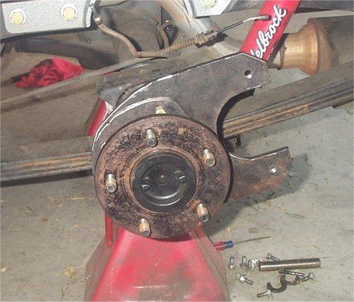 Best Brake Pads >> 85 C10 Rear Disc Brake Conversion